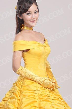 ディズニープリンセス 風 『美女と野獣』 ベル ドレス タイプ3