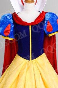ディズニープリンセス風  白雪姫/白雪姫 コスプレ衣装 (ハロウィン) タイプ2