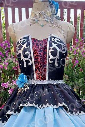 d83ef05d3595c アイドルマスター シンデレラガールズ風 シンデレラガールズ スターライトステージ  CGSS 鷺沢 文香(さぎさわ ふみか) SSR コスプレ衣装