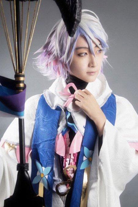 05b4e76cbe434 Fate Grand Order風 Servant マーリン Merlin 花の魔術師 コスプレ衣装