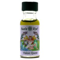 Sun'sEye サンズアイ Vision Quest ヴィジョンクエスト 15ml ミスティック ブレンド オイル 金運 アップ・願望成就系オイル【メール便送料無…