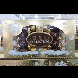 【Ferrerocollectionフェレロコレクション】3種アソートメント チョコレート イタリアのおいしいチョコレート48粒【輸入食材 輸入食品】