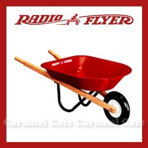 【送料無料】【RADIO FLYER ラジオフライヤー】キッズホイルバーロー 【#40】Kid's Wheelbarrow