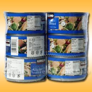 【KIRKLANDカークランド】チキンブレスト鶏肉の水煮 354g×6缶【輸入食材 輸入食品】SS10P03mar13