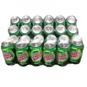 【輸入版】カナダドライ355ml×24缶 1缶65円
