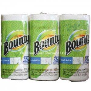 NEW【Bounty】バウンティー メガロール MEGA Roll 105シート12ロール キッチンペーパー