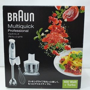 【BRAUN ブラウン】マルチクイック ハンドプロセッサー【MR5555MCA】ハンドブレンダー