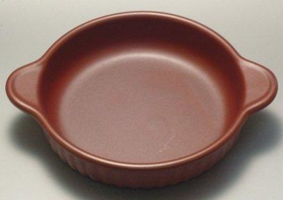 耐熱丸型グラタン皿(赤)