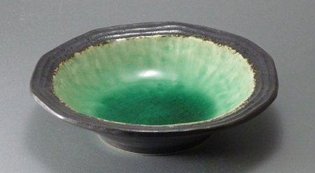 深海グリーン4.5寸取り鉢