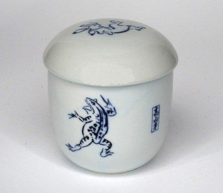 鳥獣戯画 蒸し碗(相撲の図)