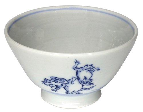鳥獣戯画 くらわんか茶碗(相撲の図)