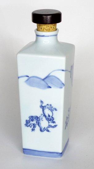 鳥獣戯画角ボトル