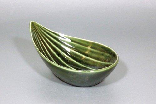 笹型小鉢(織部)
