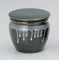 カメ型密封ストッカー(茶)(パッキン付)(小・大)