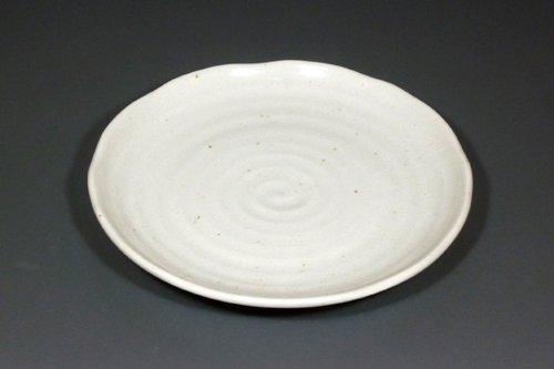 粉引4.0皿 小皿