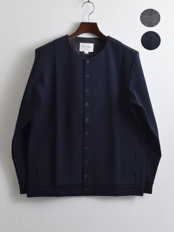 <img class='new_mark_img1' src='https://img.shop-pro.jp/img/new/icons3.gif' style='border:none;display:inline;margin:0px;padding:0px;width:auto;' />STILL BY HAND<br>Crew neck cardigan 【CS05204】