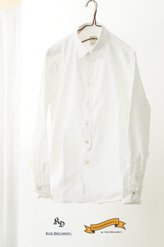 <img class='new_mark_img1' src='//img.shop-pro.jp/img/new/icons3.gif' style='border:none;display:inline;margin:0px;padding:0px;width:auto;' />KICS DOCUMENT.<br>OVER SIZE SHIRT 【SOLD OUT】