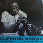 【Clifford Brown/クリフォード・ブラウン】Memorial Album (LP/中古)