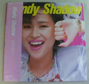 松田聖子】Windy Shadow (LP/中...