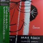 【Max Roach/マックス・ローチ】And Clifford Brown (LP/中古)