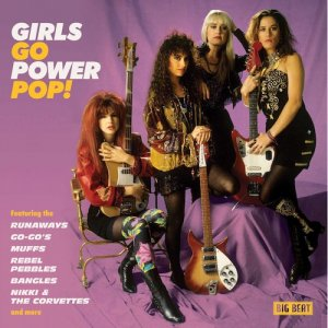 【CD】comp『GIRLS GO POWER POP!』