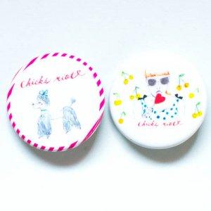 【PIN】CHICKS RIOT! 2011バッヂセット
