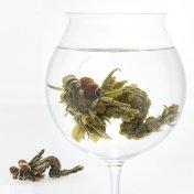 #39 神龍茶(しんりゅうちゃ)セレスト Céleste 緑茶[黄山毛峰] と緑茶[黄山毛峰]の工芸茶