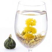 #67 彩蝶茶(さいちょうちゃ) Papillon 緑茶[黄山毛峰] と玉胡蝶と金盞花の工芸茶