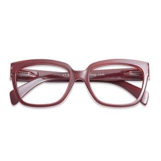 Have a look / リーディンググラス / Mood / ダークレッド / 度数1.0〜3.0 /  ハブアルック / 既成老眼鏡 /北欧デザイン