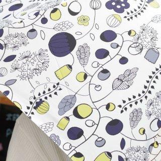 【プリントタイプ】korko(コルコ)/ 晴雨兼用 折りたたみ傘 / 大好きなガーデン【UPF50+】【紫外線カット率99%以上】