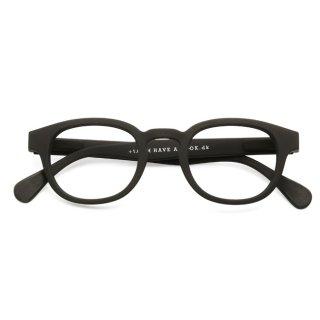Have a look / リーディンググラス / TYPE C / ブラック / 度数1.0〜3.0 / ハブアルック / 既成老眼鏡 /北欧デザイン