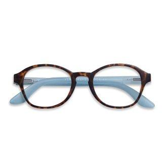 Have a look / リーディンググラス / Circle/ ホーン・ブルー / 度数1.0〜3.0 / ハブアルック / 既成老眼鏡 /北欧デザイン