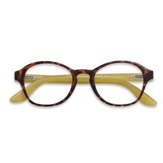Have a look / リーディンググラス / Circle/ ホーン・ライム / 度数1.0〜3.0 / ハブアルック / 既成老眼鏡 /北欧デザイン