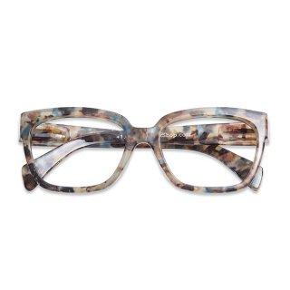 Have a look / リーディンググラス / Mood / アンバー&ブルー / 度数1.0〜3.0 / ハブアルック / 既成老眼鏡 /北欧デザイン