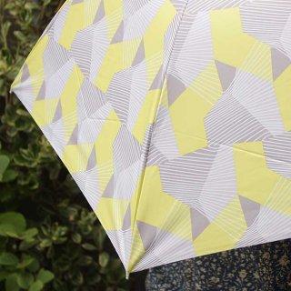 【プリントタイプ】korko(コルコ)/ 晴雨兼用 折りたたみ傘 / ブラインドシャドー【UPF50+】【紫外線カット率99%以上】
