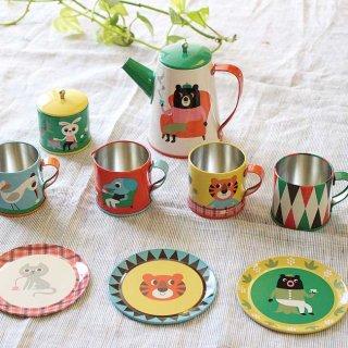 Tin Tea Set cafeオーナーなりきりセット / OMM-design / Ingela P Arrhenius / インゲラ・アリアニウス