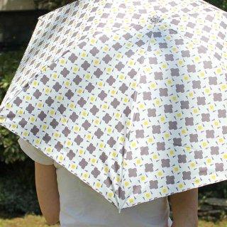 【プリントタイプ】korko(コルコ)/ 晴雨兼用 折りたたみ傘 / コンフェッティ(紙吹雪)【UPF50+】【紫外線カット&遮光率99%以上】