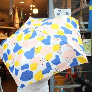 Moomin ムーミン 折りたたみ傘 (ムーミン シェイプス)/雨傘/雨晴兼用/折りたたみ/北欧デザイン/北欧/UVカット/