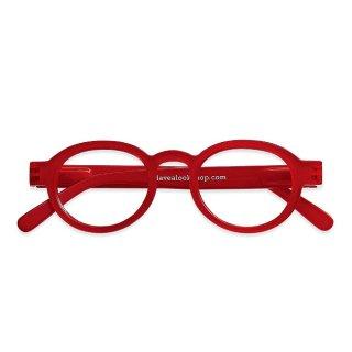 Have a look / リーディンググラス / Circle Twist / レッド / 度数1.0〜3.0 / ハブアルック / 既成老眼鏡 /北欧デザイン