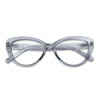 Have a look / リーディンググラス / Cat Eye / スモーク / 度数1.0〜3.0 / ハブアルック / 既成老眼鏡 /北欧デザイン