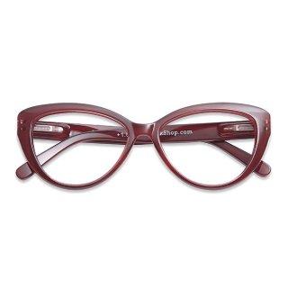 Have a look / リーディンググラス / Cat Eye / ダークレッド / 度数1.0〜3.0 / ハブアルック / 既成老眼鏡 /北欧デザイン