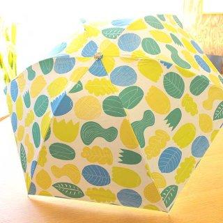 【プリントタイプ】korko(コルコ)/ 晴雨兼用 折りたたみ傘 / 植物【UPF50+】【紫外線カット率99%以上】