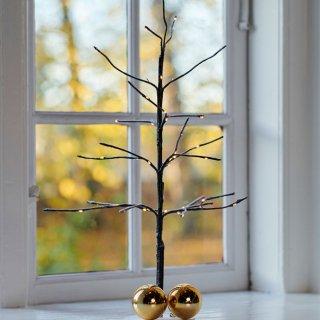 【SIRIUS】 Kira Tree Snowy Brown H50cm / シリウス /  ツリースノーブラウン(大)LEDライト