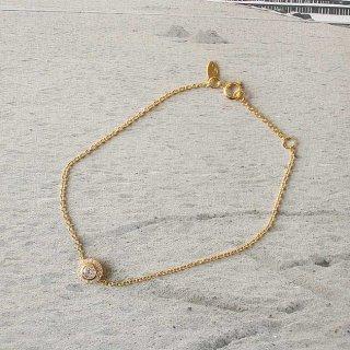 イースト・コペンハーゲン フラワーブレスレット Flower_Bracelet / ゴールド /  EAST COPENHAGEN