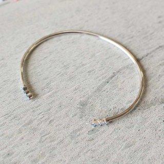 イースト・コペンハーゲン ハーモニーブレスレット Harmony Bracelet(ブルー) / シルバー /  EAST COPENHAGEN