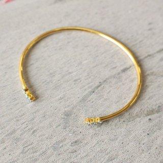 イースト・コペンハーゲン ハーモニーブレスレット Harmony Bracelet(ブルー) / ゴールド /  EAST COPENHAGEN