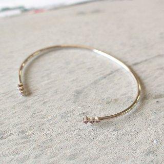イースト・コペンハーゲン ハーモニーブレスレット Harmony Bracelet(ロードライト) / シルバー /  EAST COPENHAGEN