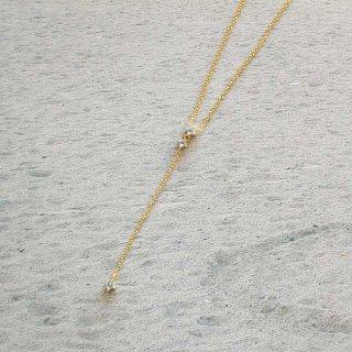 イースト・コペンハーゲン ハーモニーネックレス(ブルー) Harmony Necklace / ゴールド /  EAST COPENHAGEN