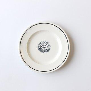【NOIR】 鹿児島睦×JOHN JULIAN  / Side Plate 16cm Lily of the valley(すずらん) / 磁器 / サイドプレート