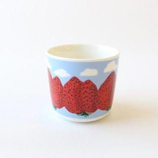 【完売しました】【再入荷はございません】【2021春限定】マリメッコ マンシッカヴオレット ラテマグ / marimekko  Mansikkavuoret Latte Mug / (単体販売)